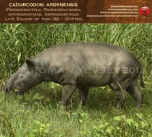 Cadurcodon ardynensis by RomanYevseyev