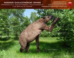 Anisodon (Chalicotherium) grande by RomanYevseyev