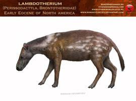 Lambdotherium by RomanYevseyev