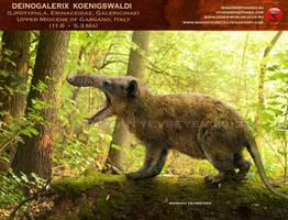 Deinogalerix koenigswaldi by RomanYevseyev