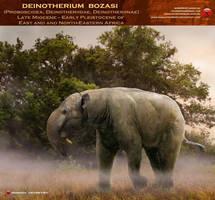 Deinotherium bozasi by RomanYevseyev