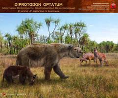 Diprodoton optatum by RomanYevseyev