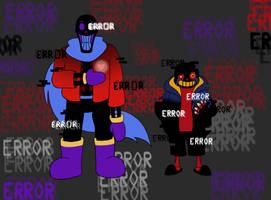 Errortale Bros by equilibrik