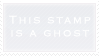 .Stamp. Ghost by KillMePleaseGod