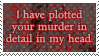 .Stamp. Detailed Murder by KillMePleaseGod