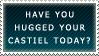 .Stamp. Hug Your Castiel by KillMePleaseGod