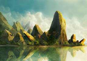 Landscape by Revilo-o