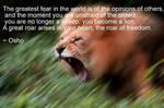 The Roar of Freedom by uki--uki