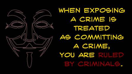 Ruled by criminals by uki--uki