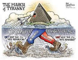 The march of tyranny by uki--uki