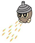 Seedot used Bullet Seed! by GaiaNex