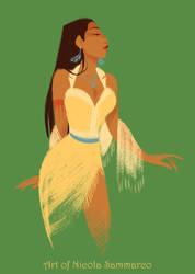 Pocahontas by nicolasammarco