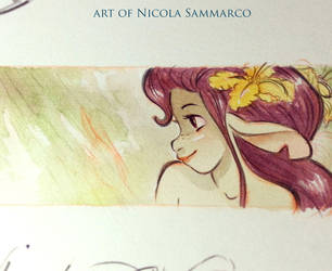 Concept new project - watercolors by nicolasammarco
