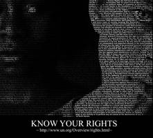 Know Your Rights by uecho