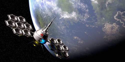 The Soviet Stealth Satellite by IVV79