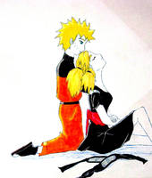 Naruto and Temari by MsMysteriousStranger