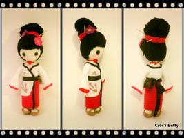 Craquotine la petite Geisha by Crocsbetty