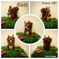 Nuts, le petit Ecureuil by Crocsbetty