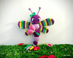 Phoebe the Dragonfly by Crocsbetty