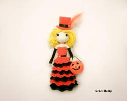 Mescaline Princess Pumpkin by Crocsbetty