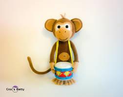 Drumkey the Monkey by Crocsbetty