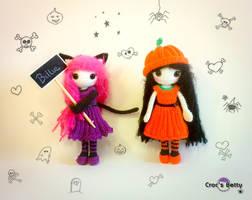 Billie celebrate Halloween by Crocsbetty