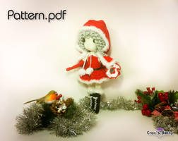Noelle the Santa Girl by Crocsbetty
