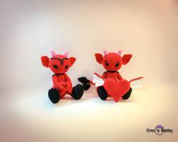 Little Devils in Love by Crocsbetty