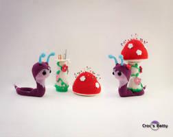 Reureu the Snail by Crocsbetty