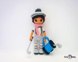 Gary and his Golf set by Crocsbetty