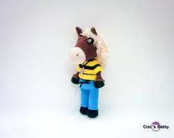 Dalton the Horse by Crocsbetty