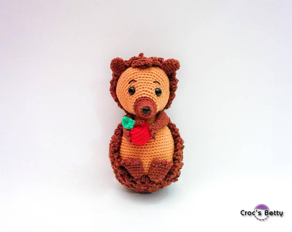 Achu the little Hedgehog by Crocsbetty