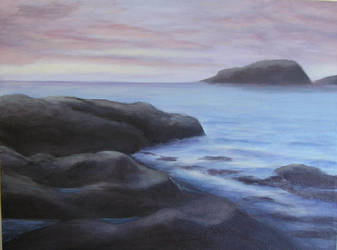 Ocean landscape by gardoll