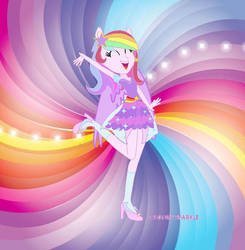 My new dress by Colorysparkle