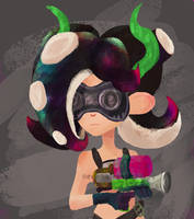 Octoling by SquidHentai
