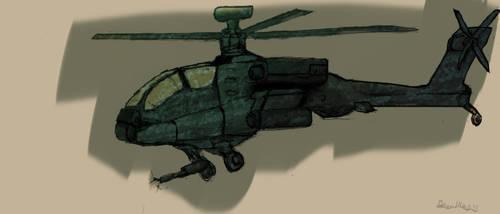Attack Chopper Sketch by BigTacoDragon