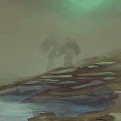 Wandering Mech by BigTacoDragon