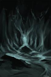 Eraser/Aqua Cave by BigTacoDragon