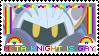 Meta Knight Is Gay stamp by taishokun
