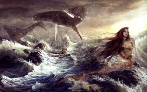 mermaid, fantazy by MonadaM