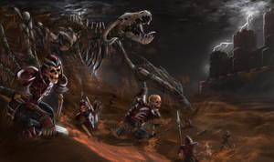 Awaking Of Red Dragons Army by EmreYaratikoL