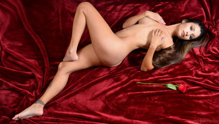 Naomi Serrano - Red Velvet 1 by SwiftCreekPhotos