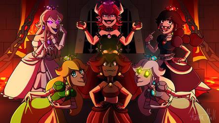 Super Crown Villian Squad by A-m-i-a-r-t