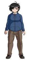 DanganRonpa OC: New Full Body Sprite by wizardotaku