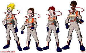 Ghostbusters 2016 Group Picture by Ectozone