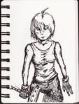 Yuffie by MoonlightHawk