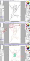 SAI Colouring tutorial // how I do my colouring by thelegendofzuko