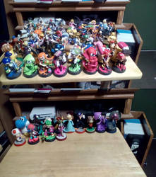 My Entire Amiibo Collection by Brightsworth-Heroes