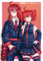 Teto + Ted by 39rin