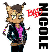 Bad Nicole...she's bad by sonicblaster59